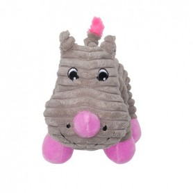 Juguete Dogit Stuffies Rinoceronte 21.5 cm