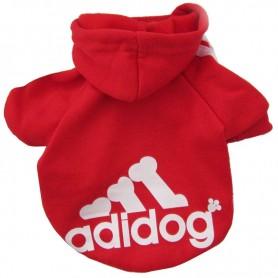 Poleron Adidog Rojo M