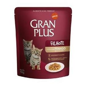 Alimento Humedo Gran Plus Pollo para Gatito 50 grs