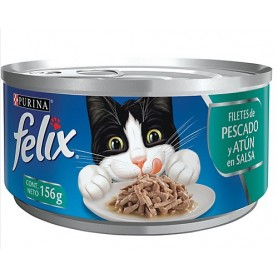 Alimento Humedo Felix Atun en Salsa
