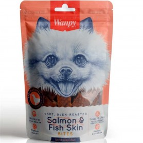 Wanpy Salmon & Fish Skin 100 grs