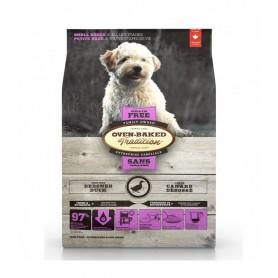 Oven Baked Perro Grain Free Razas Pequeñas Duck 2.27kg