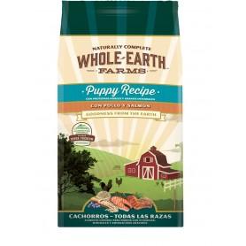 Whole Earth Farms Puppy Pollo Salmon 2kg