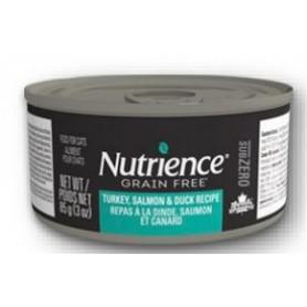Nutrience Gato Grain Free Turkey, Salmon, Duck 85grs