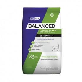 VitalCan Balanced Gato Control Peso y Castrado 2 kg.