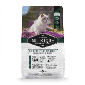 Nutrique Young Adult Cat - Sterilised/Healthy Weight 2 kg