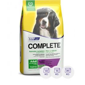 VitalCan Complete Adulto Razas Mediana y Grande Carne 1.5 Kg